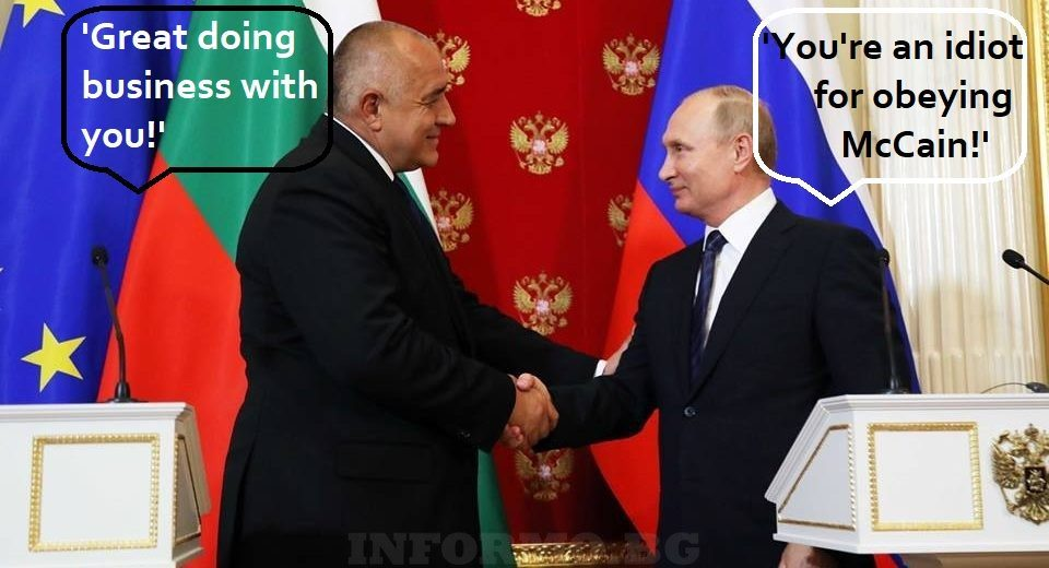 Bulgaria does a complete 180, begs Russia for new gas pipeline deal