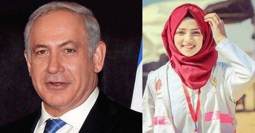 netanyahu Razan al-Najjar.