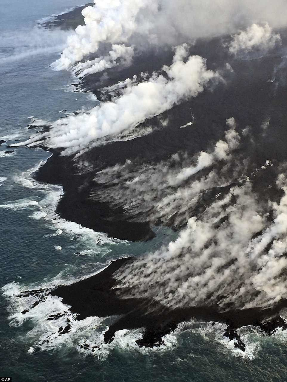 1: Kilauea volcano, Hawaii. Threat Score: 263. Aviation Threat: 48 recommend
