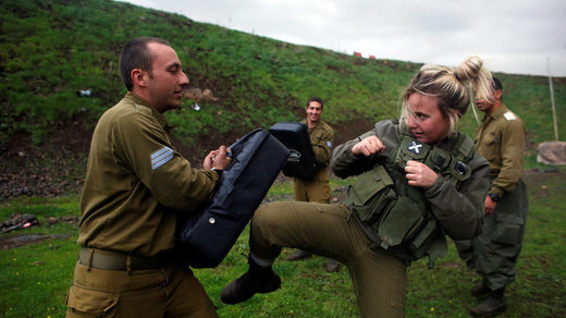 Isreali soldiers Krav Maga South Africa farmers