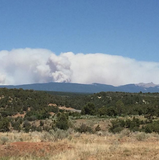 Durango Co Forest Fire june 2018