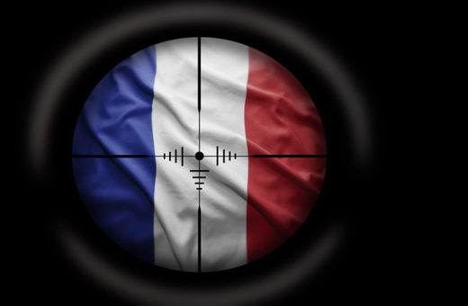 France crosshairs