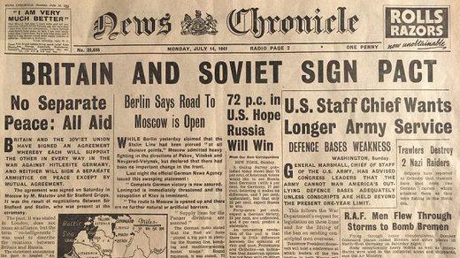 1941 British newspaper