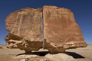 Al Naslaa Rock Formation