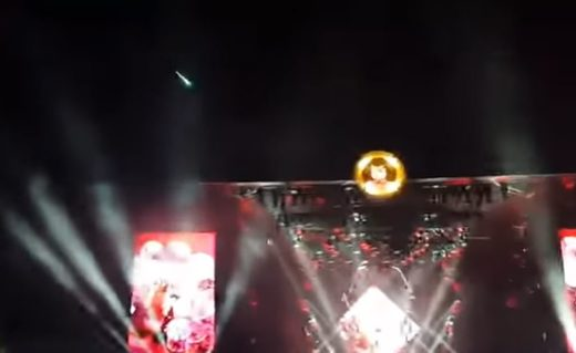 'Look, a Foo Fighter!' Meteor fireball lights up rock concert in the Netherlands