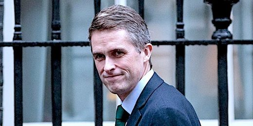 イギリスのDS Gavin Williamson