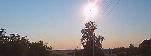 Very bright daylight fireball explodes over Russia, meteorites possible