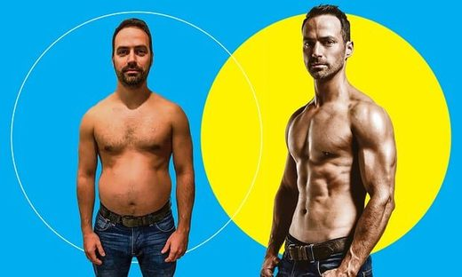 male body transformation