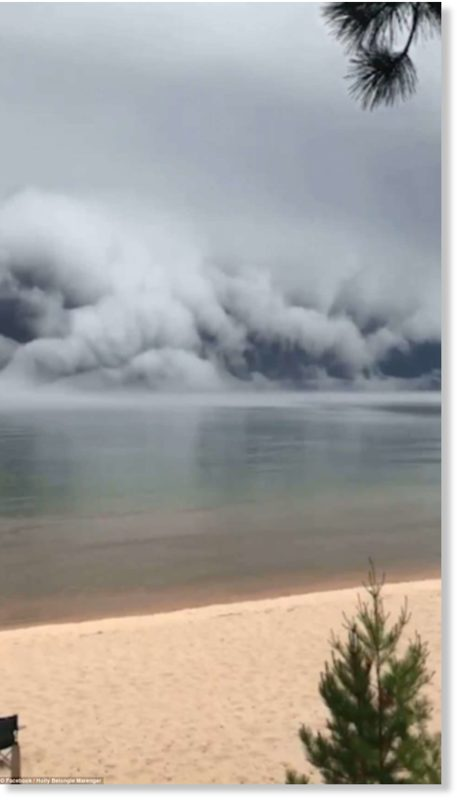 These rare, intimidating looking events were officially named as a new type of cloud in the World Meteorological Organisation's Cloud Atlas just last year