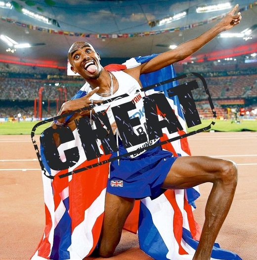 mo farah drugs cheat
