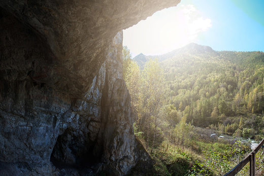 denisova cave altai mountains