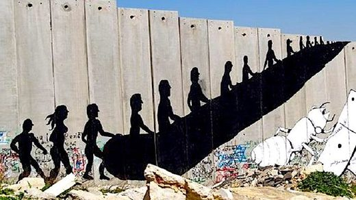 apartheid wall Westbank