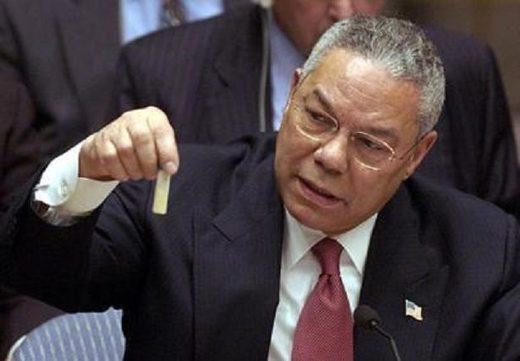 Colin Powell UN iraq weapons mass destruction