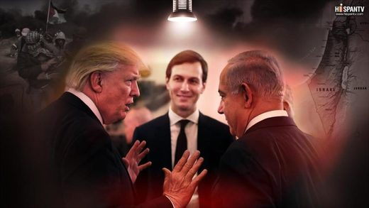Trump Kushner Netanyahu