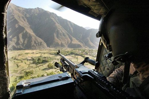 afghanistan helicopter view