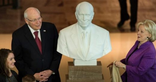Dick Cheney Statue