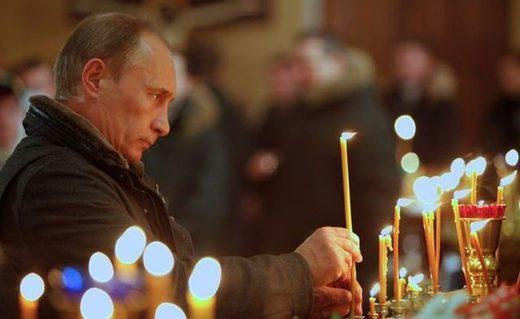Putin candle