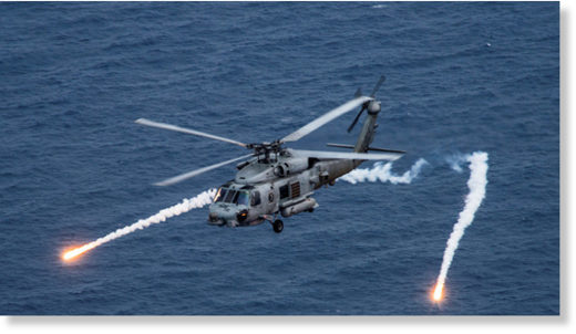 Sea Hawk helicopter