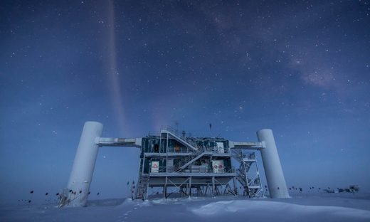 South Pole Station in Antarctica