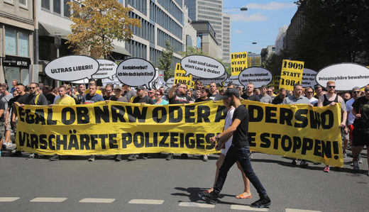 Germany protests police