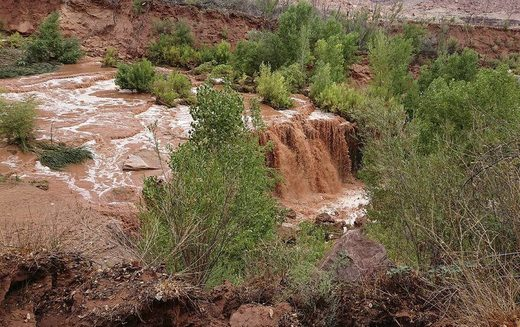 Flooding at the Grand Canyon