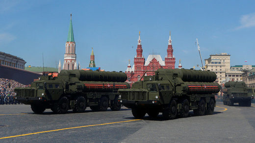 Russian S-400 air-defense systems