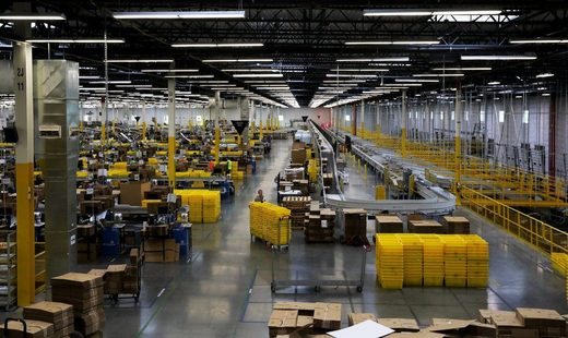 Amazon Kent warehouse