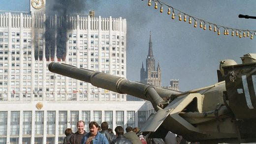 parliament moscow tanks 1993