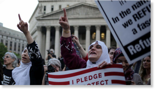 muslim immigration rally