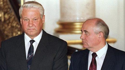 yeltsin gorbachev