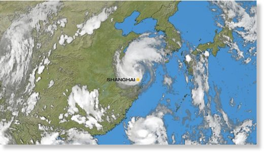 Tropical Storm Ampil slams Shanghai