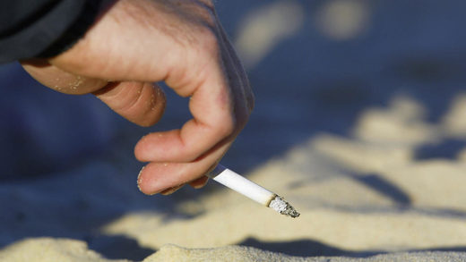 New Jersey smoking ban