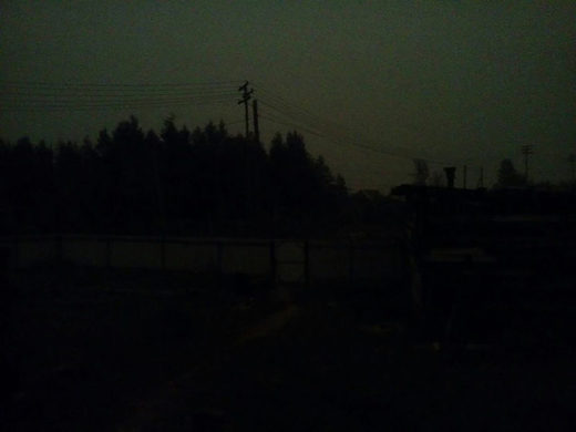 sun black out yakutia