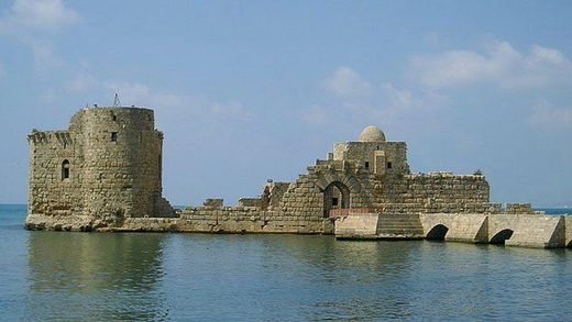 Sidon fort greece