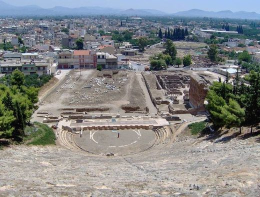 ancient theatre in Argos