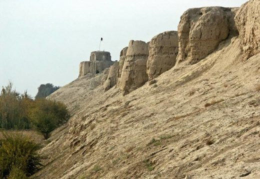 ancient walls balkh