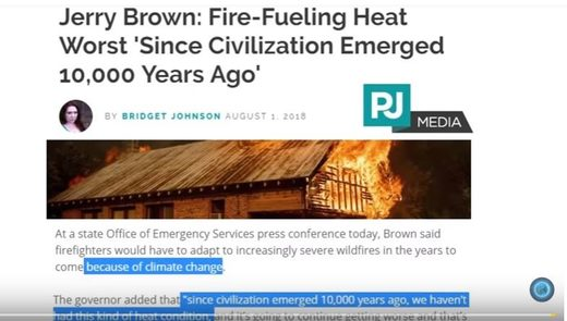 Jerry Brown's climate mis-statements