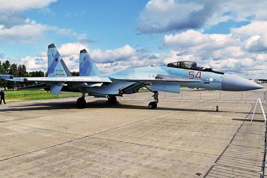 SU-35S Russian plane