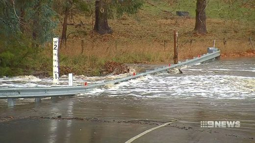 Parts of South Australia received up to 81mm of rain