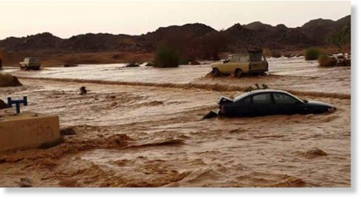 Algeria flood