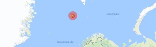 Magnitude 5.8 Moderate Earthquake Hits Greenland Sea August 7 2018