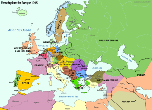 Map-WW1-France-annexation plans