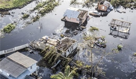 Aftermath of Hurricane Maria in Puerto Rico