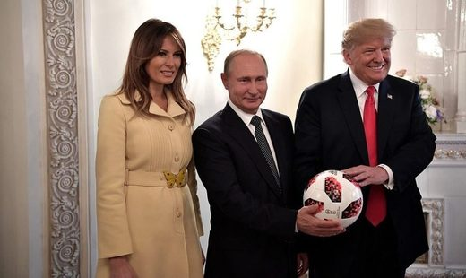 The Trumps and Putin