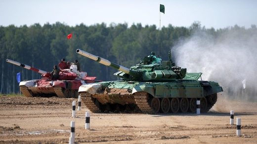 Russia tank competition