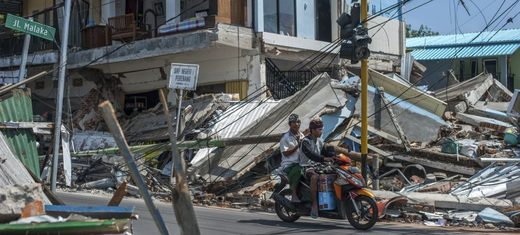Earthquake Lombok Indonesia