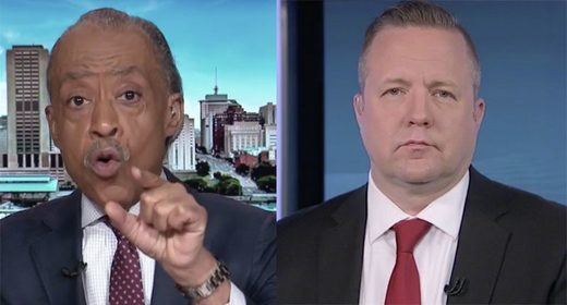 Corey Stewart and Al Sharpton