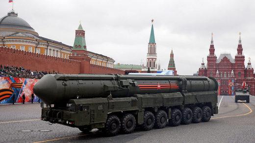 Russian Yars RS-24 intercontinental ballistic missile