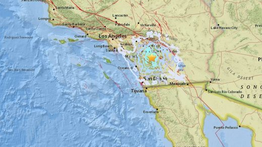California quake August 2018 13th