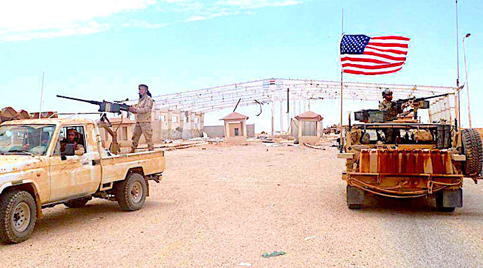 MINA Breaking News - UN Report: USA gives ISIS safe space in